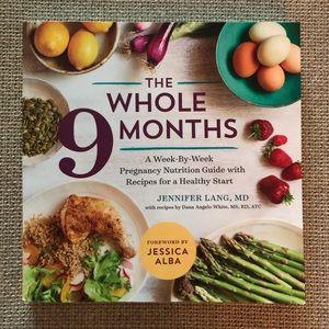 Whole 9 months pregnancy cookbook